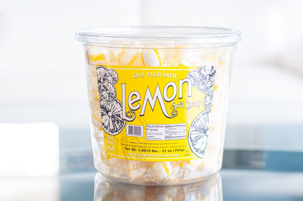 Soft Lemon 160ct Tub 3