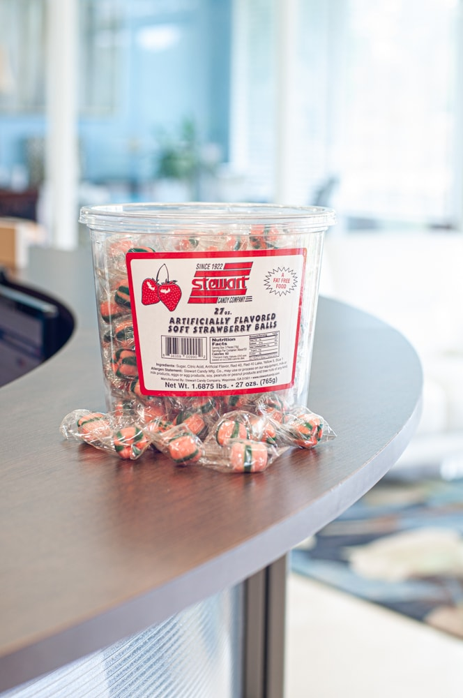 Soft Strawberry 160ct Tub 2